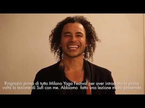 Mert Güler'den Milano Yoga Festivalinde Rumi Love Medition Dersi