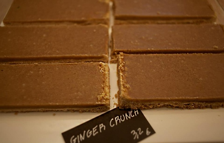 try some ginger crunch