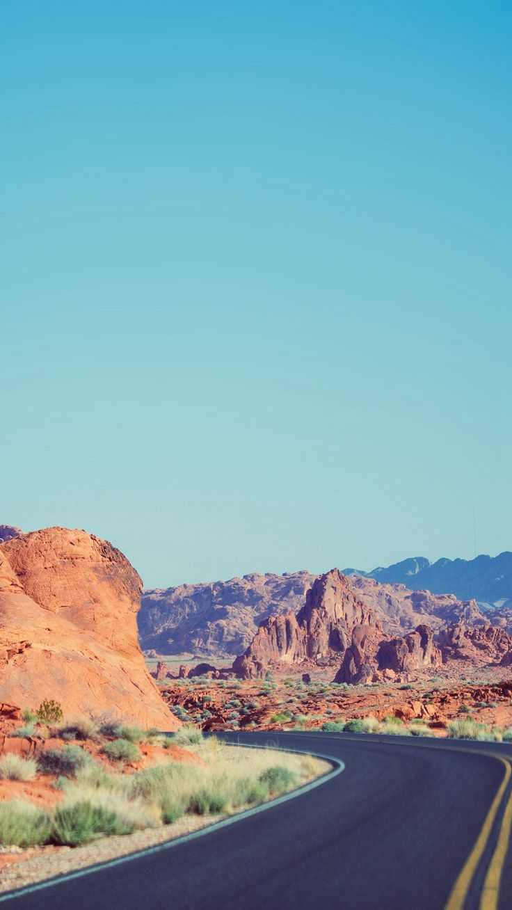 Dessert Curves Mountain Nature Sky Blue #iPhone #6 #plus #wallpaper