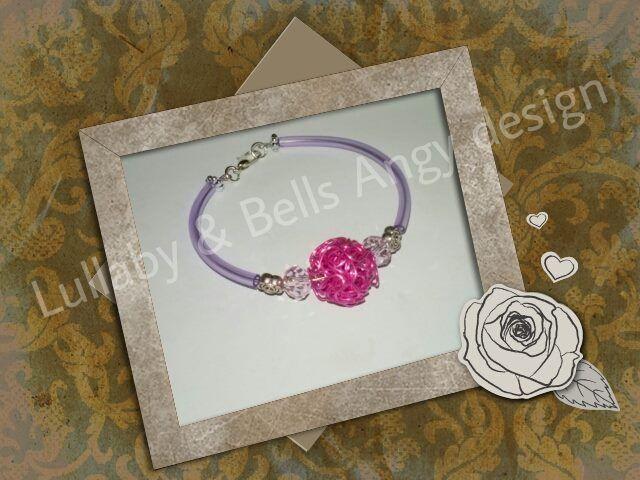 bracciale lilly di Lullaby & Bells Angy design su DaWanda.com
