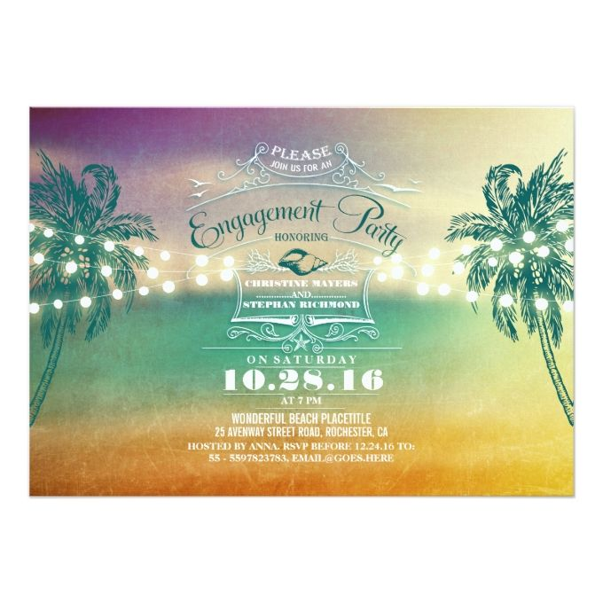 Best Engagement Party Invitations Images On