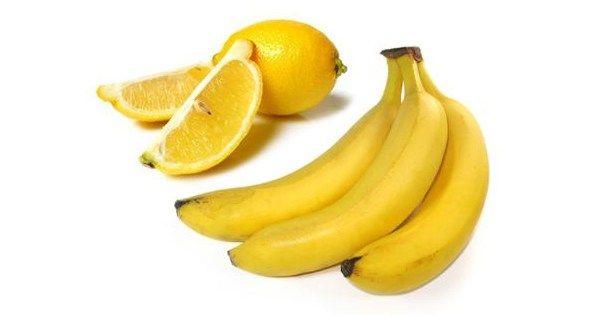 Będziesz zaskoczony do czego można wykorzystać banana i cytrynę