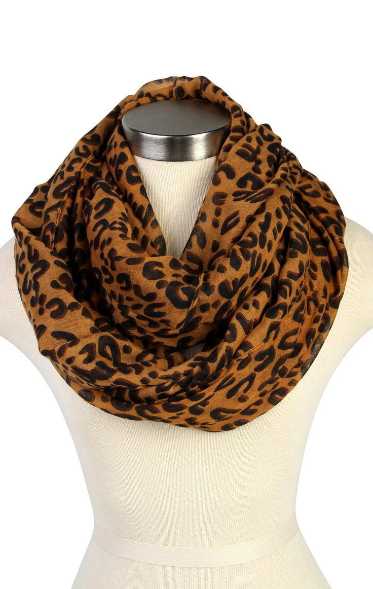 #leopard #eternity #scarf  $12.99