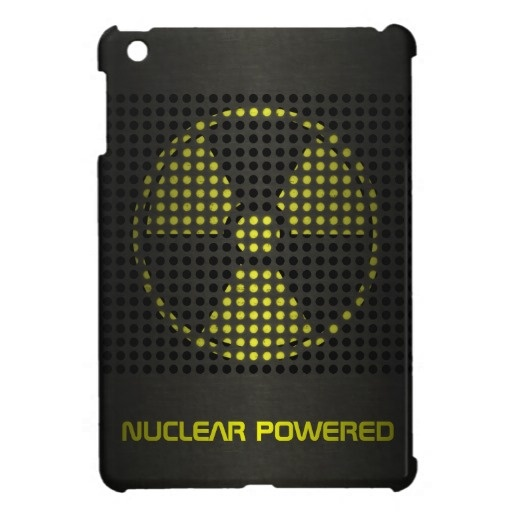 Nuclear Powered iPad Mini Covers