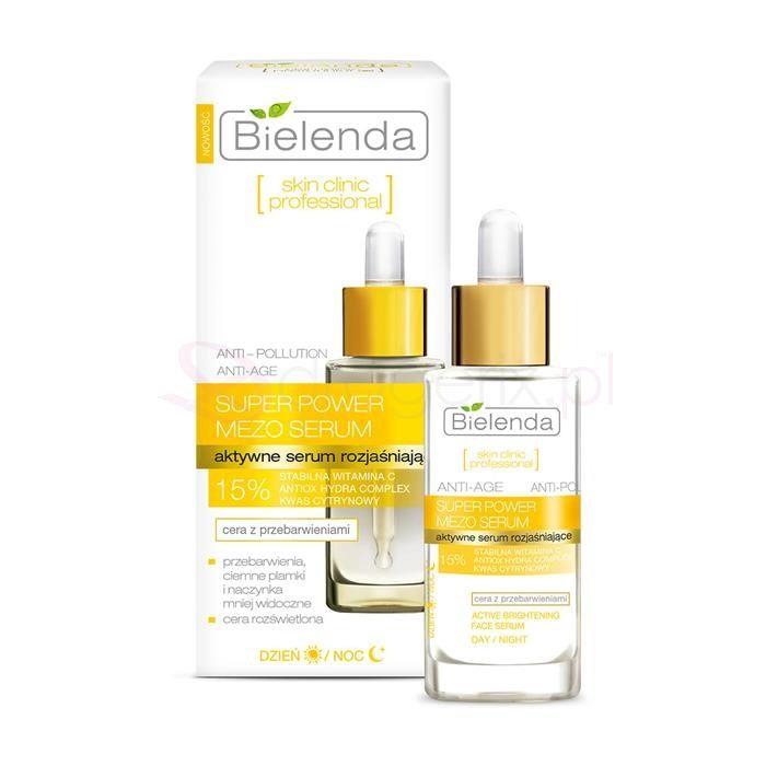 BIELENDA Skin Clinic 30g - aktywne serum rozjaśniające
