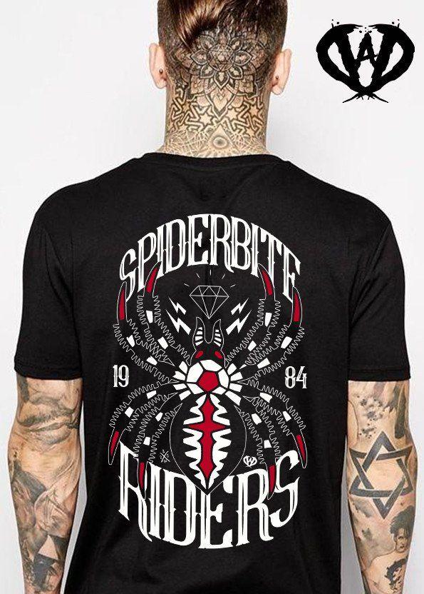 Short sleeve men's t-shirt SPIDERBITE