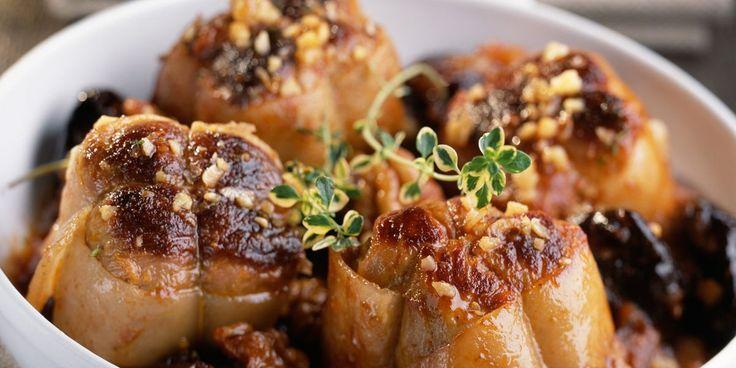 Paupiettes aux pruneaux et noix (A l'auto-cuiseur)