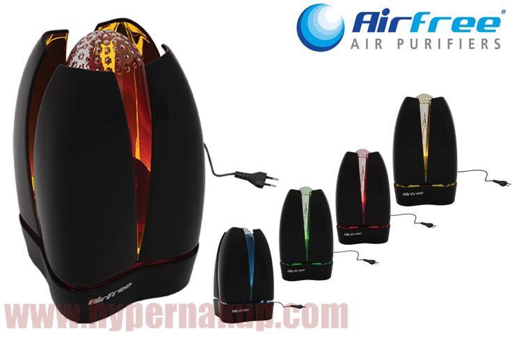 Elektrická čistička vzduchu AirFree Lotus Black