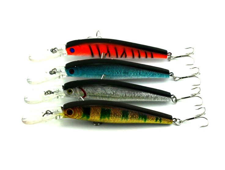 Minnow  Fishing Lures Floating trout striper fishing baits 12.5CM 14G 4# hooks hard plastic bass isca de pesca fishing tackels