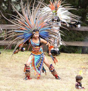 Penachos Aztecas