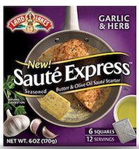 Land O Lakes Saute Express Saute Starter Coupon - Save $0.75 - http://www.livingrichwithcoupons.com/2013/09/land-o-lakes-saute-express-coupon-2013-75-off.html