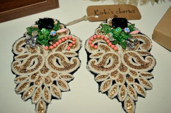 studd earrings by KirkisCharms on Etsy
