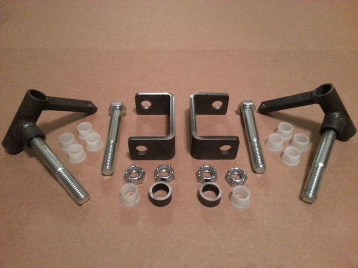 Complete 5 8 Quot Axle Steering Spindle Bracket Set W Nylon