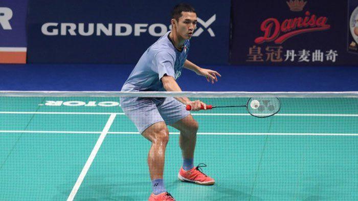Jonatan Christie Terhenti di Babak Pertama, Indonesia Sisakan 2 Tunggal Putra di Hong Kong Open 2017