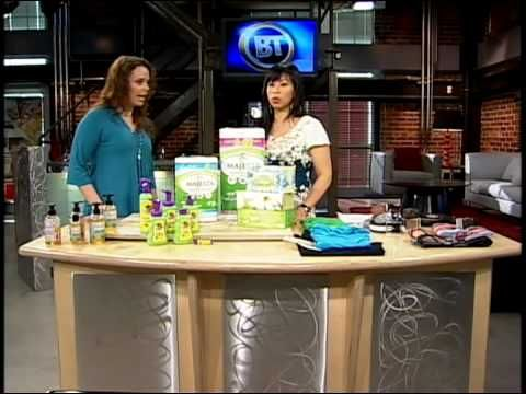 Buy Canadian First on Breakfast Television - Eco-Friendly Products Made in Canada - June 2010