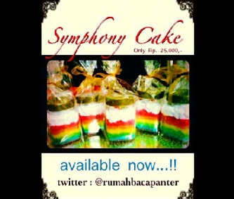 Rainbow Cake in jar only 25k