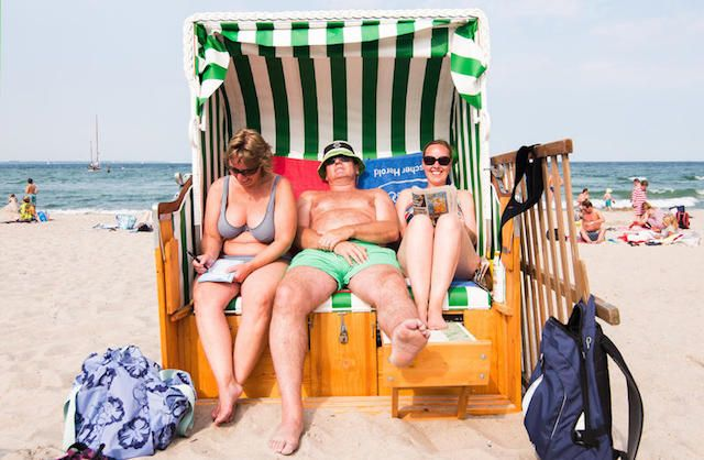 From #German beach-going tradition to #export success: Beach Chair orders roll in from the #USA, #Canada and even #Japan.