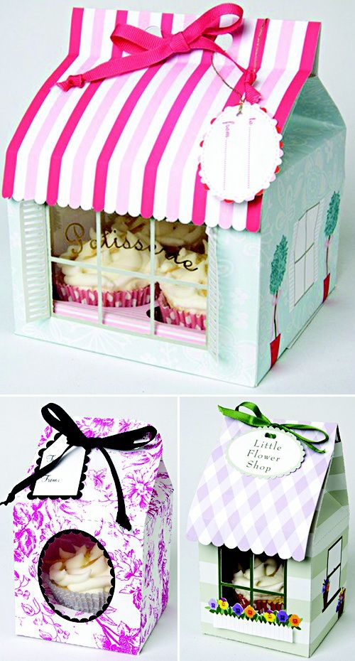 Oh. My. Gosh. This is the cutest bakery packaging I've ever seen.