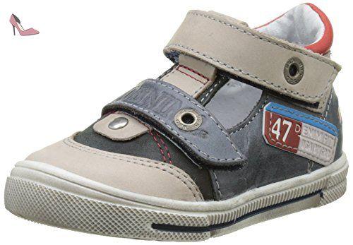 GBB Pepino, Bottes Bébé Garçon, Bleu (Vte Gris-Jeans Dpf/Snow), 24 EU - Chaussures gbb (*Partner-Link)
