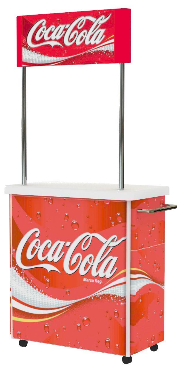 Mueble degustación Coca-Cola