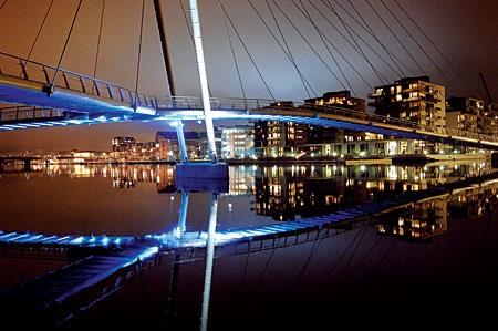Ypsilon bridge, Drammen