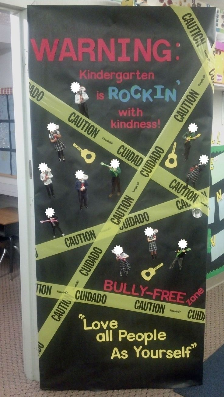 OLWEUS Bullying Program Kick Off with Door Decorating Contest! First Place Winner!