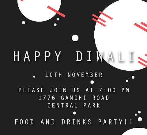 11 best free diwali invitation cards and wording samples images on happy diwali invitation black diwali partyhappy diwaliinvitation cards stopboris Choice Image