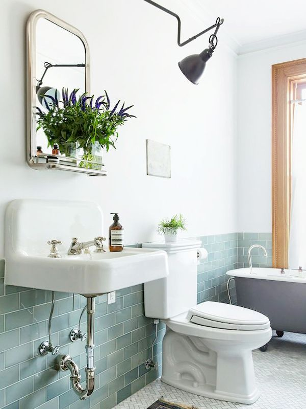 9 Ways to Make Your Bathroom Look More Expensive via @MyDomaine