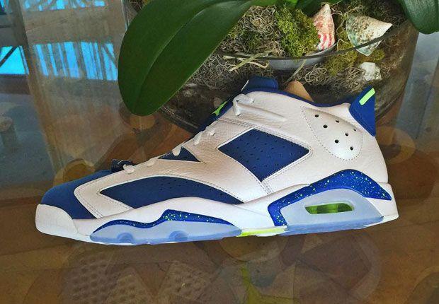 """Air Jordan 6 Low """"Ghost Green"""" - SneakerNews.com"""