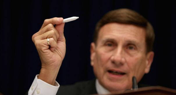 John Mica, fake joint roll into pot hearing