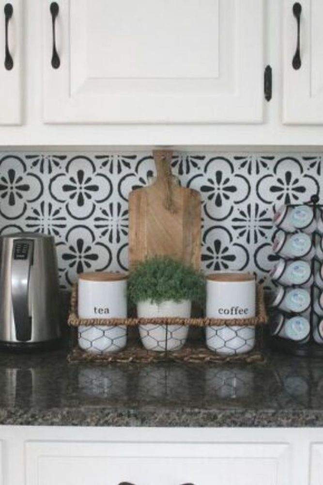 Faux Kitchen Tile Kitchen Tile Diy Inexpensive Backsplash Ideas