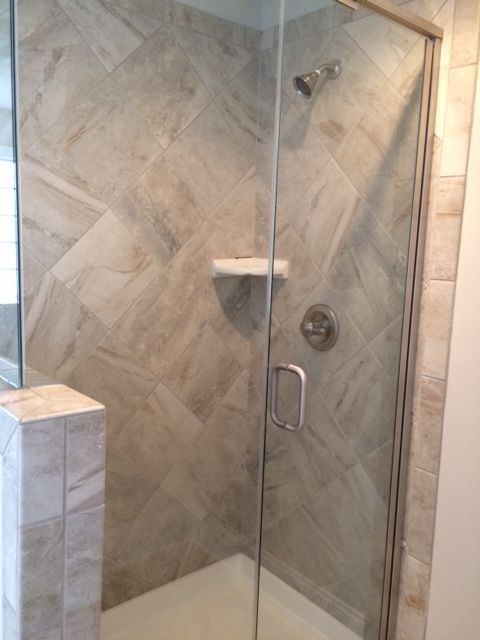 wall mounted kitchen faucets track lighting guest suite shower. ao danya stream tile. | bathrooms ...