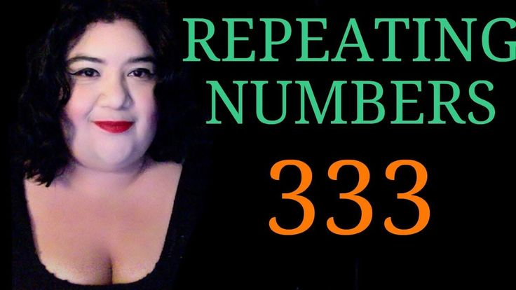 Repeating Number 333 - Numerology Angel Number -