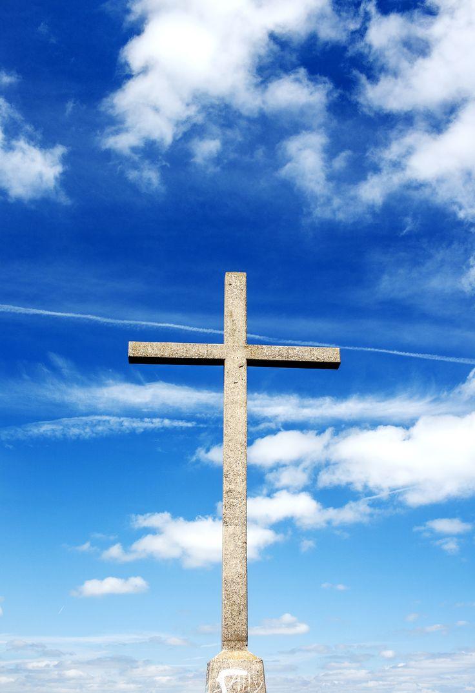 Cross a   Bray Head, Ireland