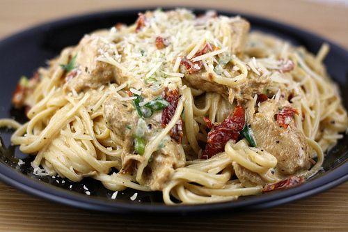 Cajun chicken pastaDinner, Foodies, Cajun Chicken Pasta, Fun Recipe, Chicken Pasta Recipes, Italian Chicken, Chicken Sausage, Cream Sauces, Food Fight