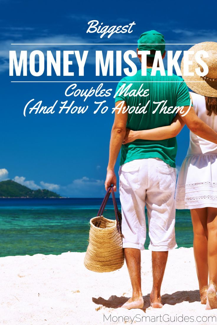 There is nothing tougher than handling money as a couple. t's no wonder then that money is the leading cause of divorce in the US. http://www.moneysmartguides.com/biggest-money-mistakes-couples-make-and-how-to-avoid-them