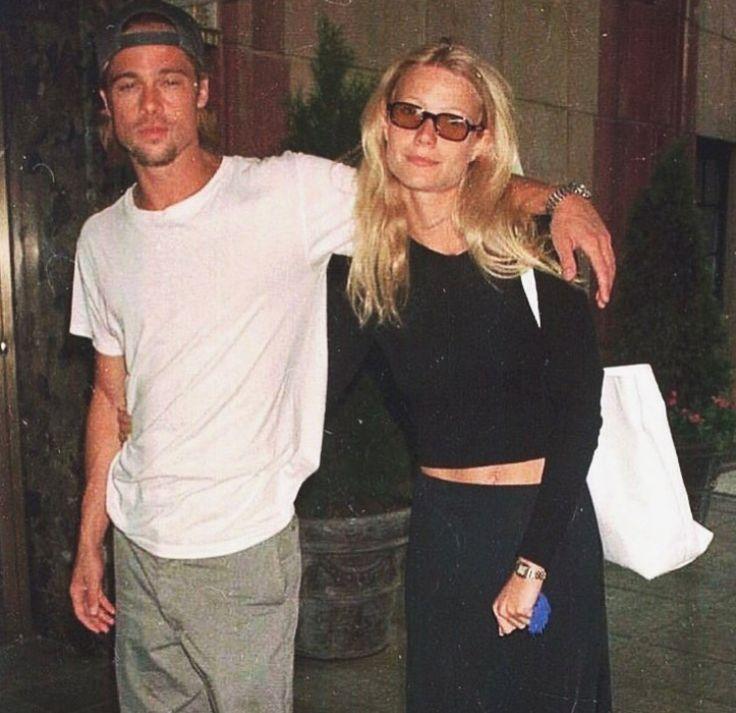 Brad Pitt  Gwyneth Paltrow   Gwyneth Paltrow, Fashion -3623