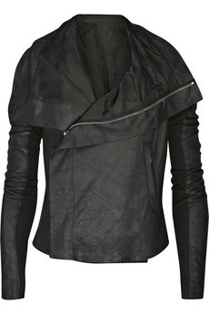 The Essential Black Leather Jacket: Black Leather Jackets, Clothing, Jackets Women, Women Leather Jackets, Riding Boots, Women Black, Blister Leather, Rick Owens, Leather Biker Jackets