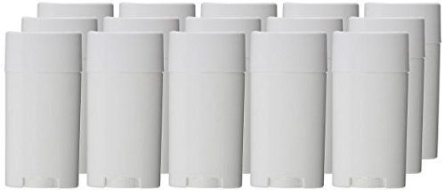 Goege Empty Plastic Oval Deodorant Containers Lip Balm Tubes with Lid Caps 15ML for Lipstick, Crayon,chapstick,homemade Lip Balm,BPA Free (10 Pcs) -- Check out this great product.