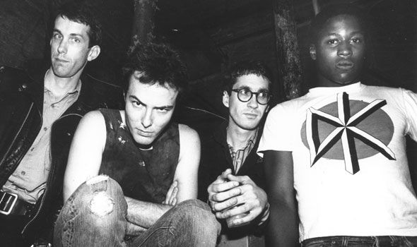 Dead Kennedys - Klaus Flouride, Jello Biafra, D.H. Peligro and East Bay Ray