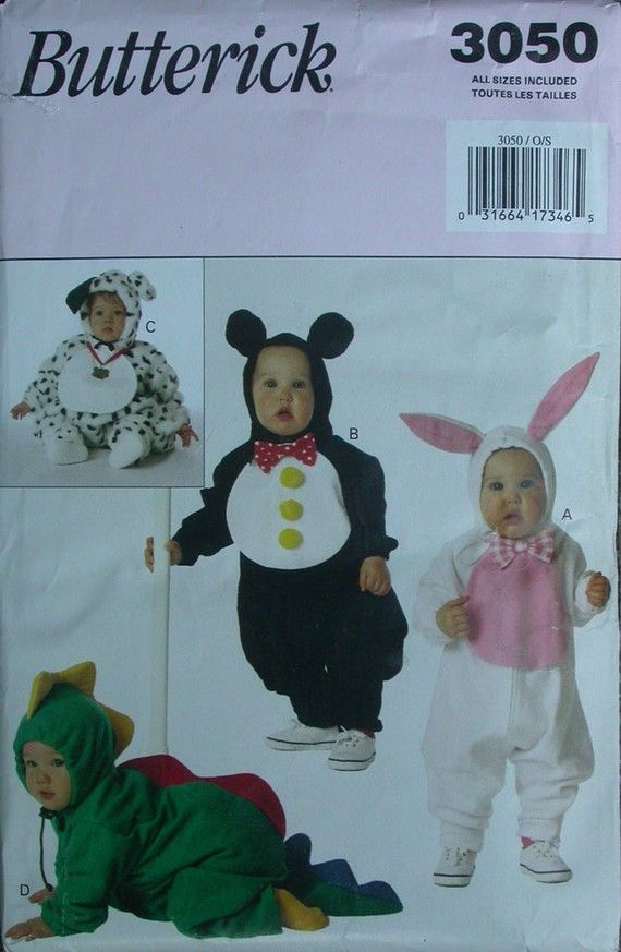 BUTTERICK HALLOWEEN COSTUME PATTERN KIDS SMALL by TheHowlingHag, $4.95
