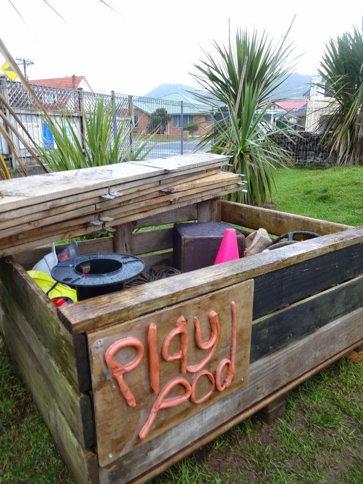 Mairtown Kindergarten: Introducing our 'Playpod' http://mairtownkindy.blogspot.com/2014/09/introducing-our-playpod.html