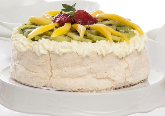 Looking for the traditional kiwi dessert? Try our yummy Tropical Pav!