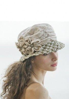 Hat - Linen BUY IT NOW ON www.dezzy.it!