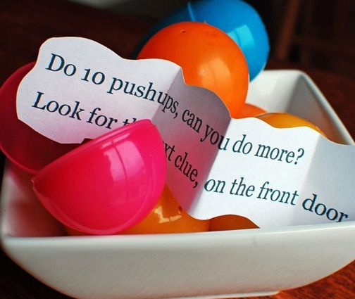 Easter Egg Fitness Treasure Hunt   Get Up & Go