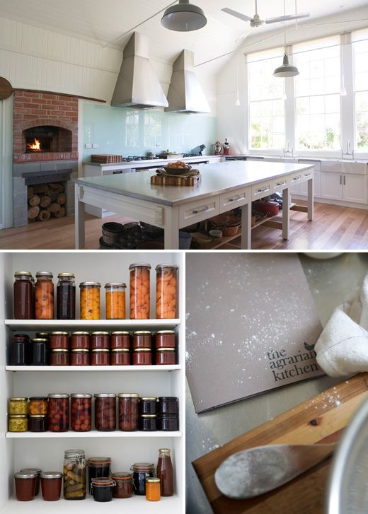 The Agrarian Kitchen (Tasmania) via The Design Files