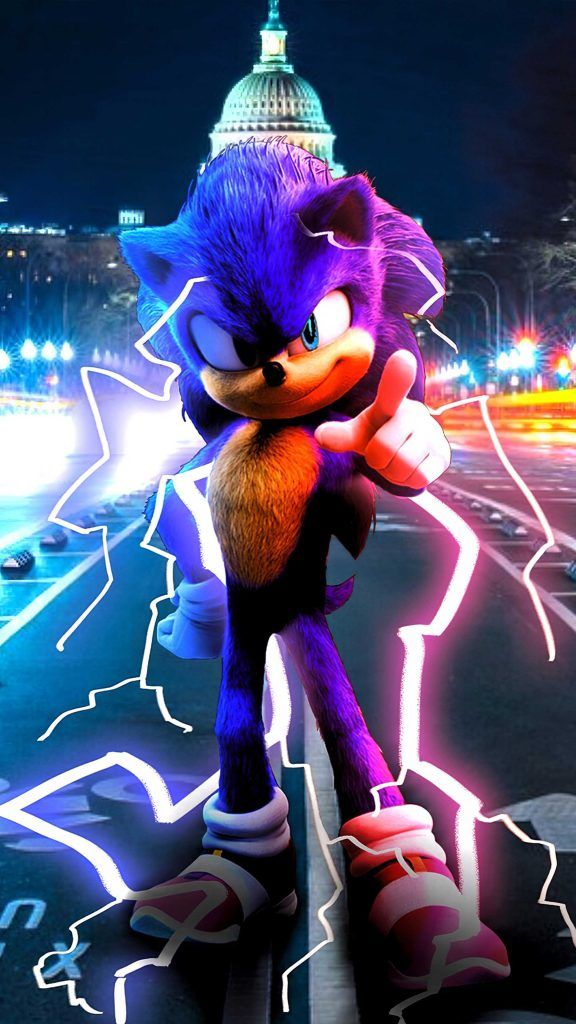 Sonic The Hedgehog Poster 2020 Sonic The Hedgehog Mobile Wallpaper Wallpaper