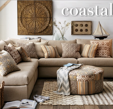 Coastal Chic- easy neutrals & breezy style, no matter where you live