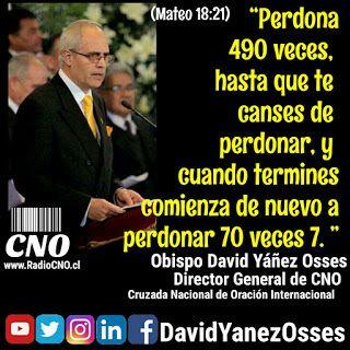 David Yañez Osses: Perdonando 490 veces