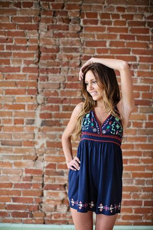 Fly Like A Bird Romper